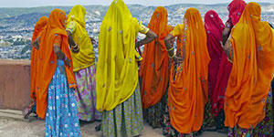 vibrant colors of rajasthan